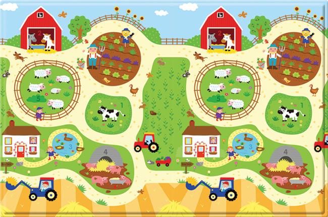 Busy Farm Play Mat Shop Playpens